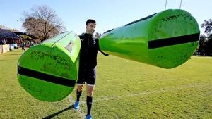 Conor Murray at Ireland training on Wednesday