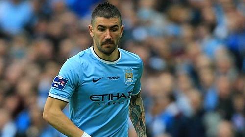 His new deal means Aleksandar Kolarov will be at Manchester City until 2018