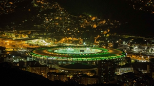 Astrounauts will have a much more distant view of Maracanã Stadium in Rio de Janeiro