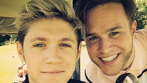 Niall Horan and Olly Murs