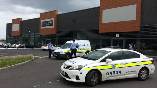 The shooting happened just after 11am outside a gym in Balbriggan