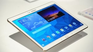 Samsung's Galaxy Tab S will be available from next month