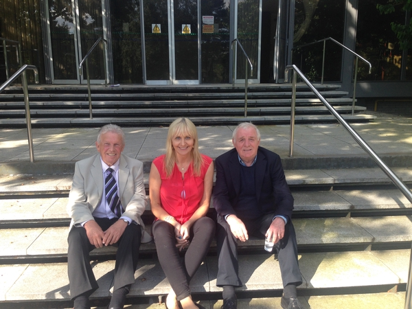John Giles, Miriam O'Callaghan and Eamon Dunphy