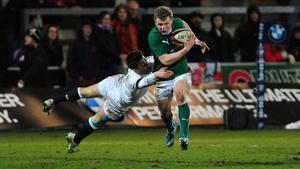 Nick McCarthy will start for Ireland at scrum-half