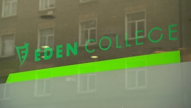 Eden College, based at Dublin's Burgh Quay, closed in April