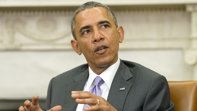 "President Obama said he would take ""several days"" to make a decision on Iraq"