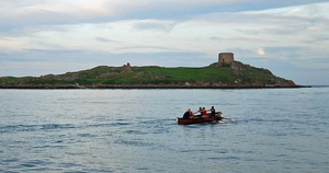 Linda O'Reilly sent in this photo of Dalkey Island, Dublin