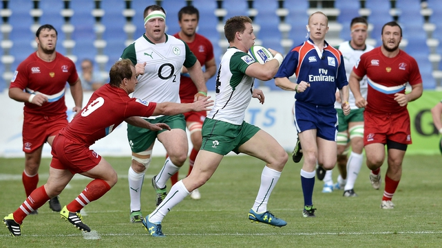 Craig Gilroy scored a brace for Emerging Ireland