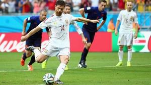 Xabi Alonso has retired from international football