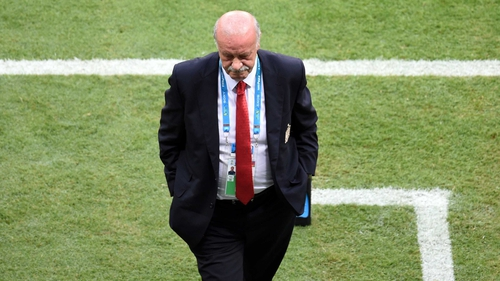 Vicente del Bosque remains the first choice of the RFEF