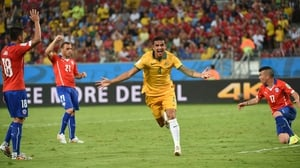 Cahill has more World Cup goals than Lionel Messi and Cristiano Ronaldo combined