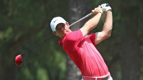 Rory McIlroy is nine shots behind leader Martin Kaymer after two rounds