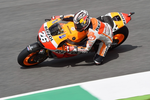 Dani Pedrosa set a time of one minute 40.985 seconds