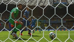 Pablo Armero put Colombia ahead early on