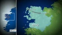 Motorcyclist dies in Mayo crash