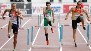 Thomas Barr is now the number one ranked European 400m hurdler
