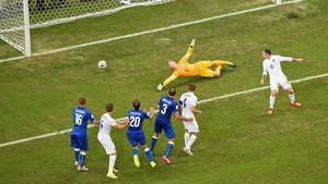 Marchisio opened the scoring after 35 minutes