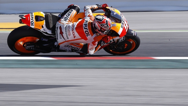 Marc Marquez's sensational start to the MotoGP season continued with another victory in Catalunya