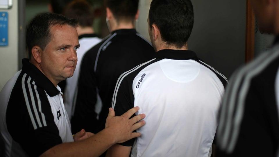 Davy Fitz looks focused as Clare arrive at Semple Stadium