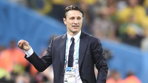 "Croatia's coach Niko Kovac said the media ""blew it with this one"""
