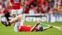 Cork defender Damien Cahalane gives his reaction to their win over Clare