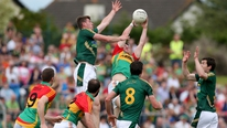 Pauric Lodge watched Meath run riot in a 7-13 to 0-06 dismissal of Carlow