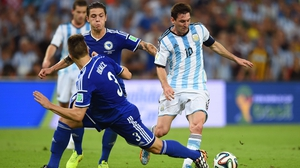 Lionel Messi scored the winner for Argentina