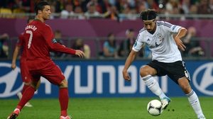 Germany beat Portugal 1-0 in the group stages of Euro2012