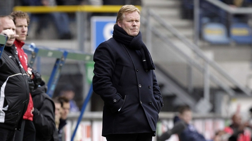 Ronald Koeman has been vocal in his criticism of how the Ireland management handled James McCarthy's injury