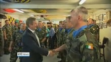 Taoiseach finishes 24-hour visit to Irish troops in Lebanon