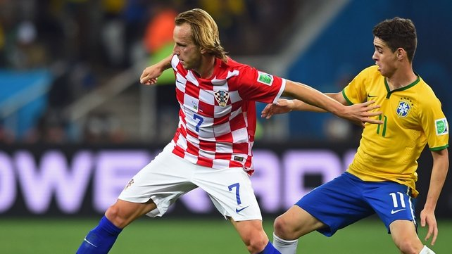 Rakitic is seen as a natural replacement for Cesc Fabregas