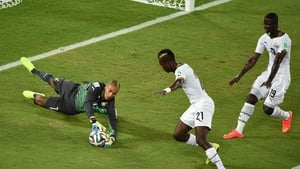 Despite the quick start from the US, Ghana kept the ball for most of the first half, claiming 64 percent possession
