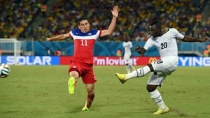 After the half-time break, Ghana consistently applied pressure to the US side, with Asamoah and the like refusing to back down