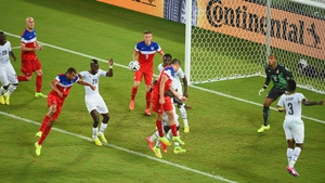 But just four minutes later, US defender John Brooks Jr. scored his first international goal on a straightforward header