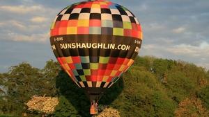 Hot air ballooning in Co Meath (pic: Aidan Murphy)