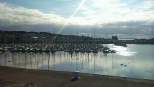 Evening sun in Howth, Co Dublin (Pic: @twittertweet)