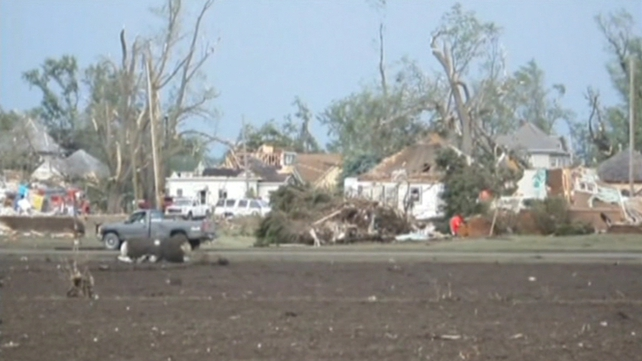 Tornadoes struck several farming communities in Nebraska