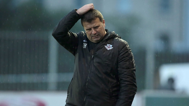 Robbie Horgan leaves Drogheda third from bottom in the Airtricity League Premier Division