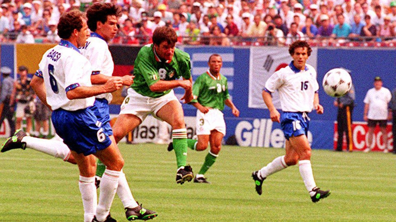 Watch fans celebrate USA '94 win over Italy 25 years ago today