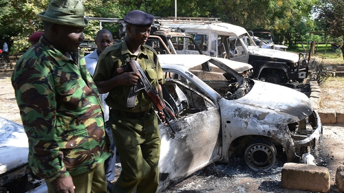 The aftermath of Sunday night's attack in Mpeketoni