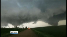Massive tornadoes hit the US state of Nebraska