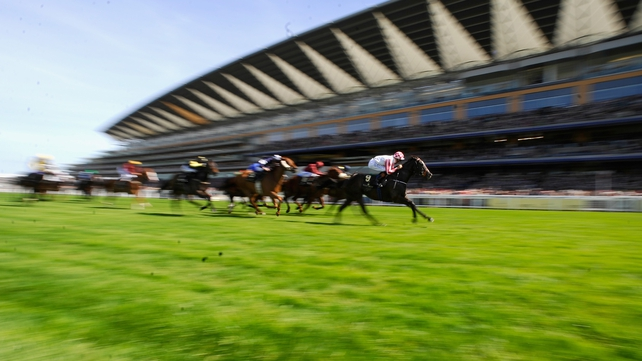 Richard Hughes riding Sole Power wins The King's Stand Stakes
