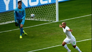 The goal marked Feghouli's third in his last seven appearances for Algeria, which is as many as he had scored in the 27 matches prior