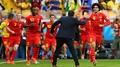 Goal: Belgium 1-1 Algeria