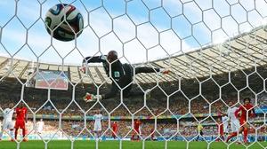 Yet, it was Belgium midfielder Marouane Fellaini who scored next, providing an equalising header at 70'