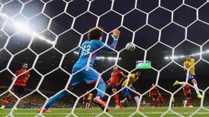 By the final whistle, Mexico and Brazil drew scoreless, with Ochoa's seven saves and the two teams' virtually equal shot sheets spelling out the story of the match