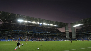 Arena Pantanal in Cuiabá, which hosted Chile v Australia last week, was the stage for the match