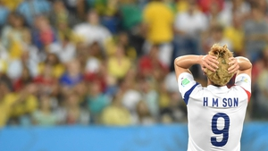By the end of the first half, Korea midfielder Son Heung-Min expressed the sentiments of many, as the score remained totally stuck at 0-0