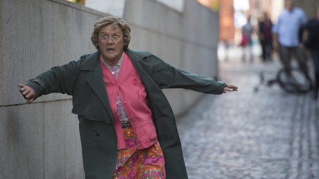 The Ten Million Euro Man: the mammy's in d'money