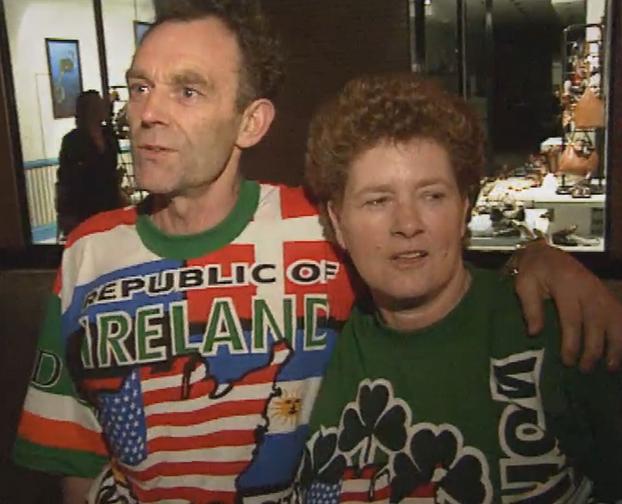 Ireland Soccer Fans